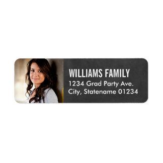 Return Address Labels   Graduate Photo Design