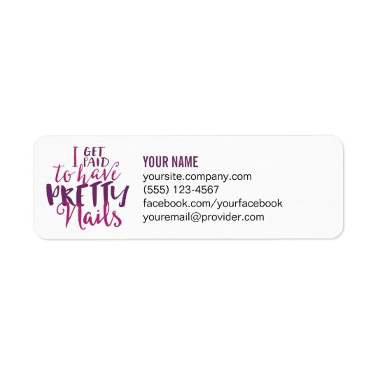 Return Address Labels or Catalogue Labels