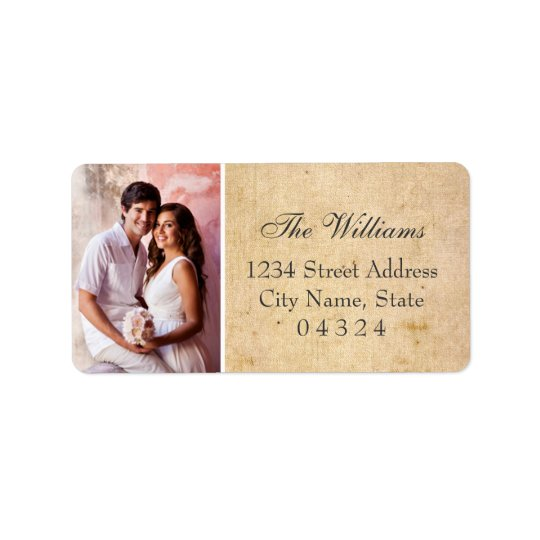 Return Address Labels | Wedding Photo Design