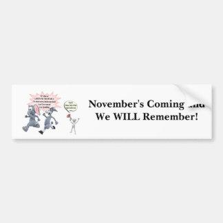 Return Congress to the People Stop Secret Meetings Car Bumper Sticker