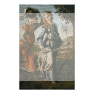 Return of Judith to Bethulia by Botticelli 14 Cm X 21.5 Cm Flyer