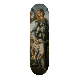 Return of Judith to Bethulia by Botticelli Skate Board