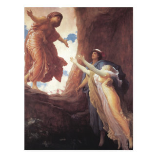 Return of Persephone - Lord Frederic Leighton Post Card