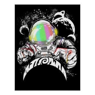 return of the astronaut god poster