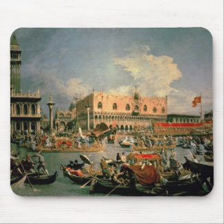 Return of the Bucintoro on Ascension Day Mouse Pads