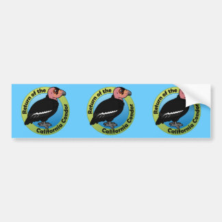 Return of the California Condor Bumper Sticker
