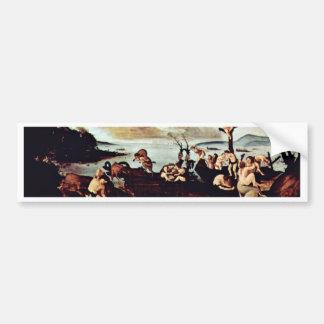 Return Of The Hunt By Piero Di Cosimo Bumper Sticker