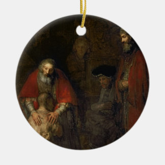 Return of the Prodigal Son, c.1668-69 Christmas Ornament