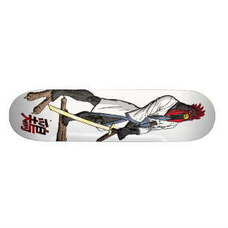 Return of the Samurai Chicken Skateboard