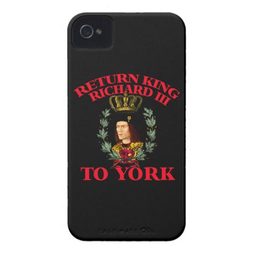Return Richard the Third to York Case-Mate iPhone 4 Cases