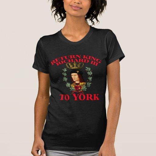Return Richard the Third to York Shirt