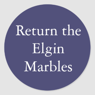 Return The Elgin Marbles sticker