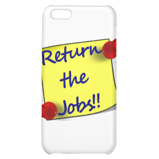 Return the Jobs!! Case For iPhone 5C