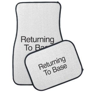 Returning To Base Car Mat