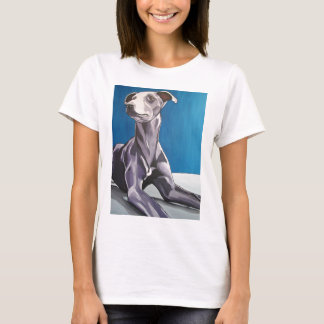 'Reuben Bluedog' - lurcher T-Shirt
