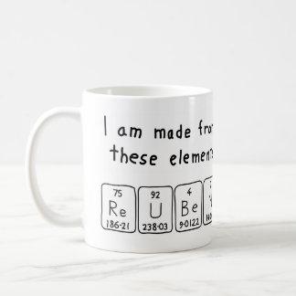Reuben periodic table name mug