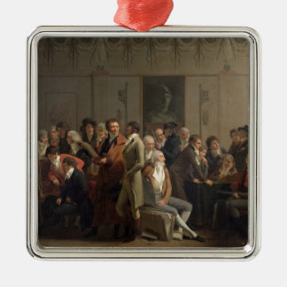 Reunion of Artists in the Studio of Isabey, 1798 Christmas Ornament
