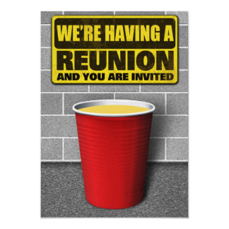 Reunion Party Invitations