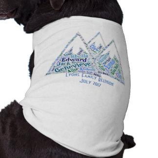 Reunion Shirts for the Dog Sleeveless Dog Shirt