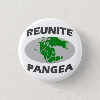 Reunite Pangea 3 Cm Round Badge