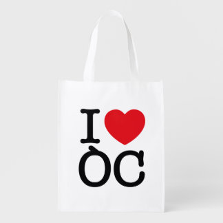 "Reusable bag ""I Coils Oc """