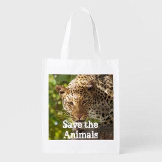 Reusable Bag Save the Animals