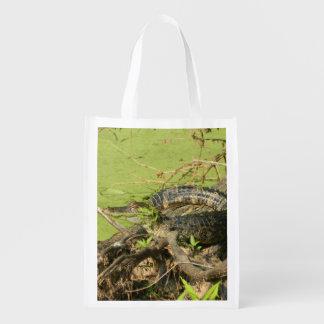 reusable bag w/gator