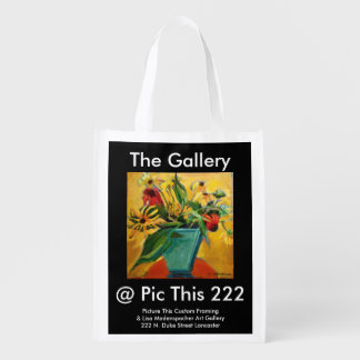 Reusable Bag with art gallery logo