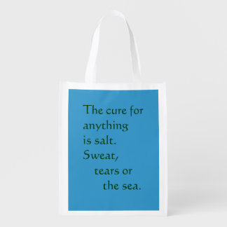 Reusable folding bag - salt cure