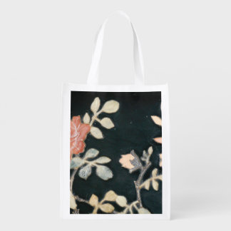 REUSABLE GROCERY BAG - FLOWER PIC