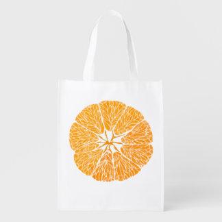 Reusable Grocery Bag - Orange you glad . . .