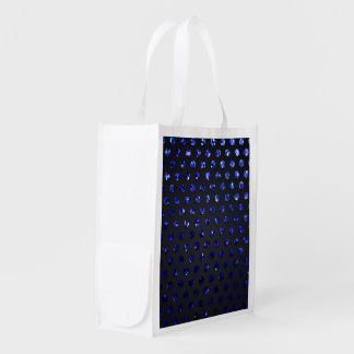Reusable Grocery Bag Polka Dot Sparkley Jewels