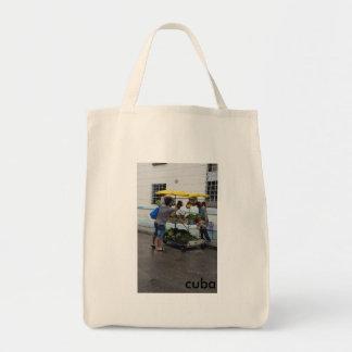Reusable Grocery Tote (Cuban Produce Cart)