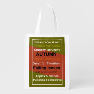 REUSABLE SHOPPING BAG – AUTUMN FALL