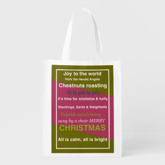 REUSABLE SHOPPING BAG – CHRISTMAS