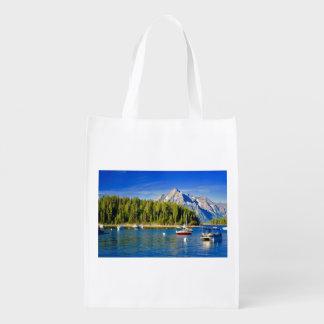 Reusable Shopping Bag Grand Tetons