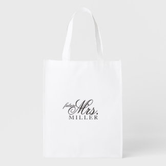 Reusable Tote - Heart Fab future Mrs.