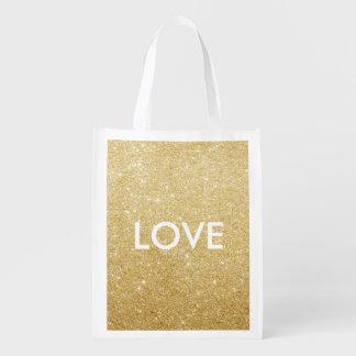 Reusable Tote - love/xoxo Shopping Tote