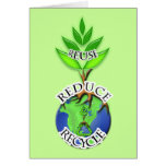ReUse ReDuce ReCycle Cards