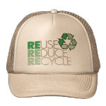 Reuse, Reduce , Recycle Eco Hat