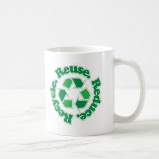 Reuse Reduce Recycle Mugs
