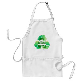 Reuse Reduce Recycle Standard Apron