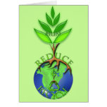 Reuse Reduce Recycle Tree Earth Globe