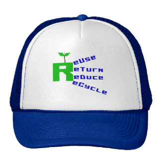 Reuse Return Reduce Recycle Trucker Hat