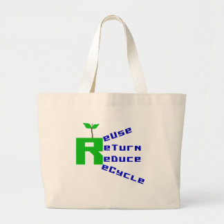 Reuse Return Reduce Recycle T-shirts and Gifts Tote Bags