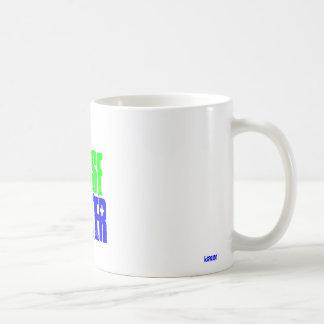 REUSE, WATER, idator Basic White Mug