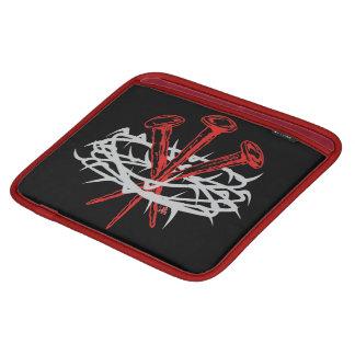 Rev H - crown&spikes -iPad Sleeve iPad Sleeves