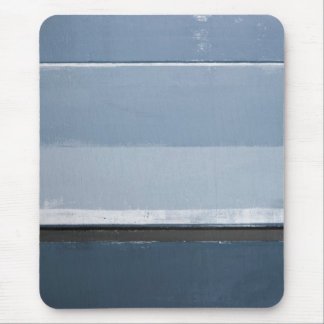 'Reveal' Blue and Grey Abstract Art Mouse Mat