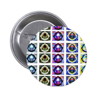 Revealed HEALING Lamps : 1 can light thousands 6 Cm Round Badge
