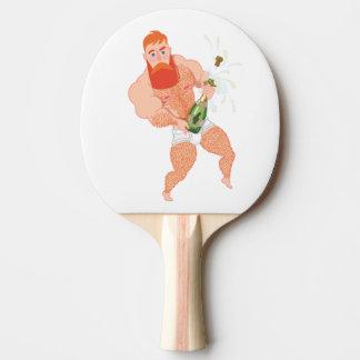 Réveillon 2018 ping pong paddle